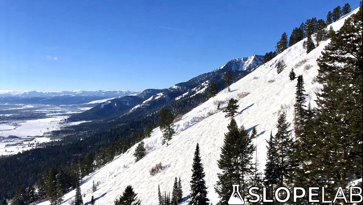 how to ski jackson hole hobacks