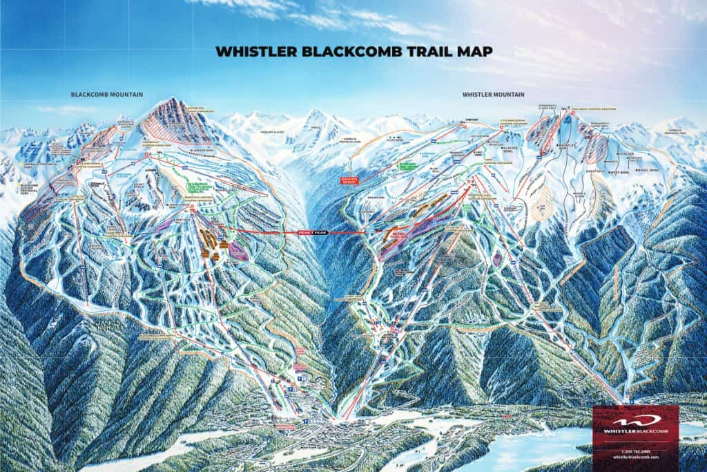 Whistler Trail Map